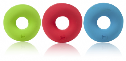 JW Playbites Donut Treat Toy for Dogs